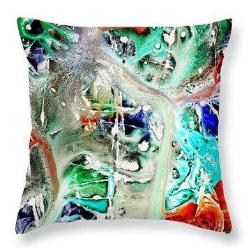 Forrest Of Opinions Throw Pillow