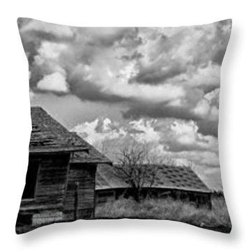 Forsaken Throw Pillow by Betty Depee