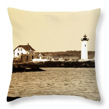 Fort Constitution Throw Pillow