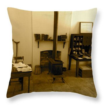 Fort Delaware General Office Throw Pillow by Amazing Photographs AKA Christian Wilson