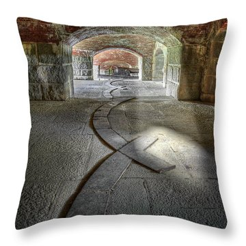 Fort Knox Me Throw Pillow