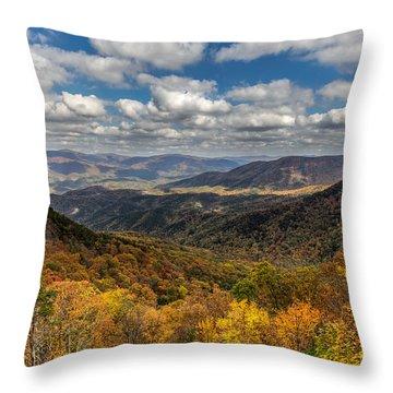Fort Mountain Throw Pillow