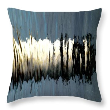 Fort Pickering Light Throw Pillow by Mike Martin