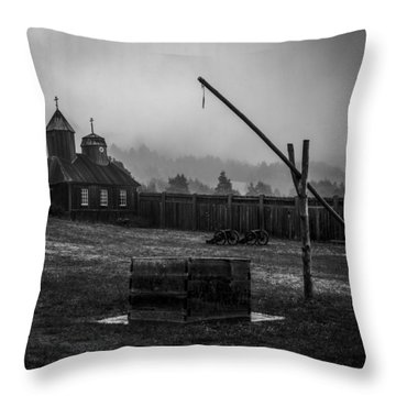 Fort Ross Throw Pillow