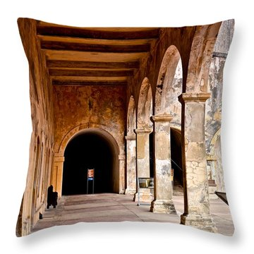 Fort San Cristobal 5 Throw Pillow