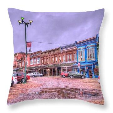 Fort Scott - Kansas Throw Pillow by Liane Wright