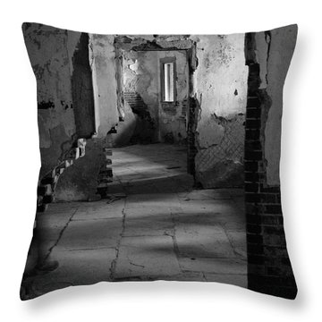 Fort Warren Throw Pillow