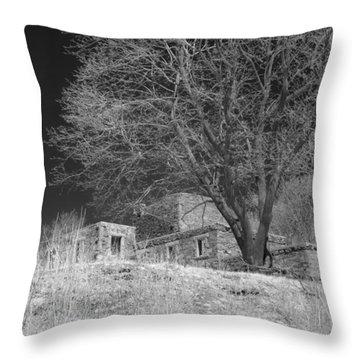Fort Williams In Ir 3 Throw Pillow by Joann Vitali