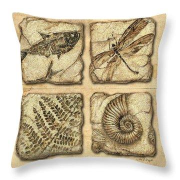 Ferns Throw Pillows
