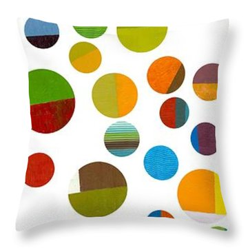 Found My Marbles 1.0 Throw Pillow