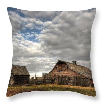 Found On The Prairies Throw Pillow