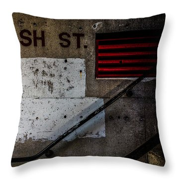 Foundation Number Nineteen Throw Pillow by Bob Orsillo