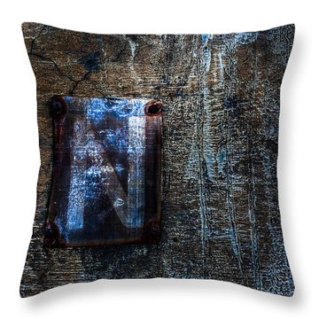 Foundation Number Sixteen North Throw Pillow by Bob Orsillo