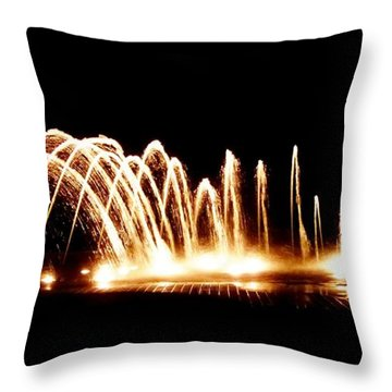 Fount Camana Throw Pillow by Amar Sheow