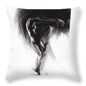 Fount II Throw Pillow