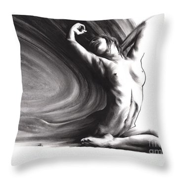 Fount Iv Throw Pillow