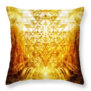 Fountain Of Boundless Love Throw Pillow
