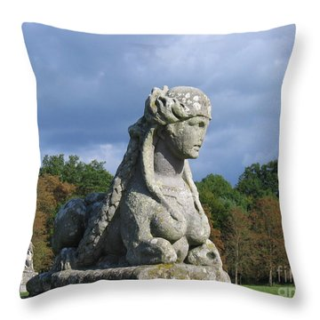 Fountainebleau Twin2 Throw Pillow