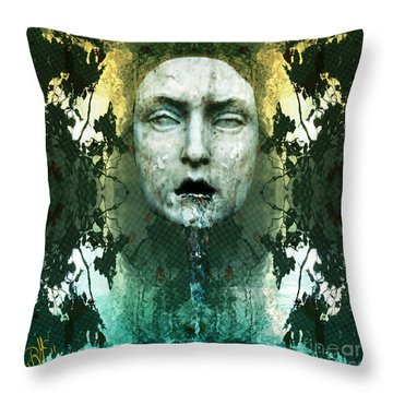Fountainhead Dream Throw Pillow