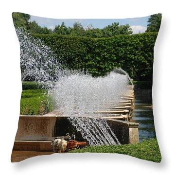 Fountains Throw Pillow