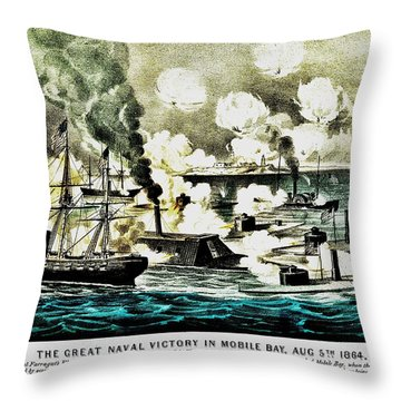 Four Bells Full Speed Throw Pillow by Benjamin Yeager