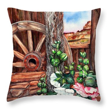 Four Corners Throw Pillow