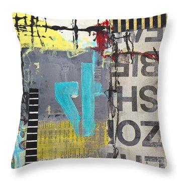 Four Throw Pillow by Elena Nosyreva