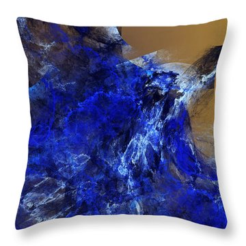 Four-minute Warning Throw Pillow