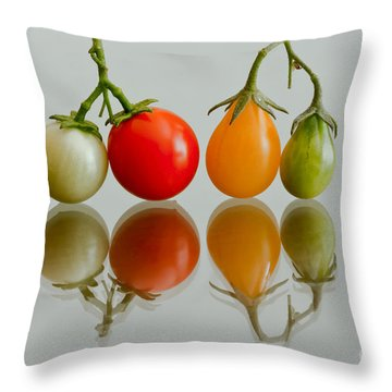 Four Of The Kinds Throw Pillow by Jonathan Nguyen