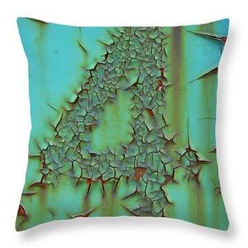 Four Throw Pillow by Ramona Johnston