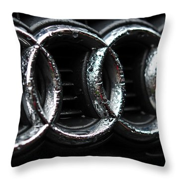 Four Rings Throw Pillow