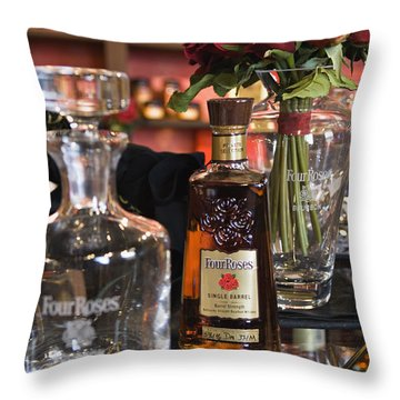 Four Roses Single Barrel - D008612 Throw Pillow