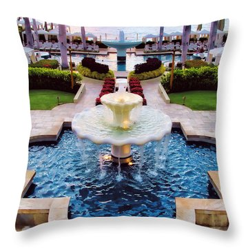 Four Seasons 50 Throw Pillow