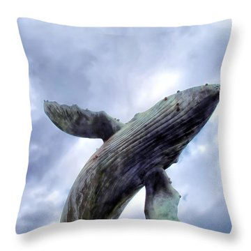 Four Seasons 59 Throw Pillow