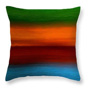 Four Seasons Magic Throw Pillow