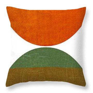 Four Suns Setting Throw Pillow