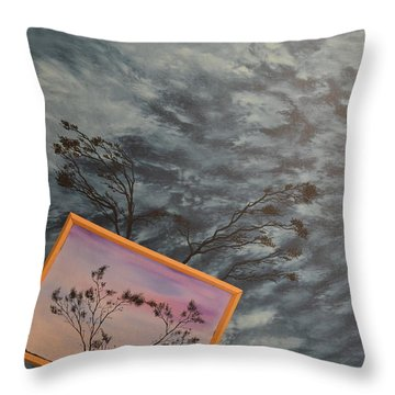 Four Winds Of Change Throw Pillow by Stuart Engel