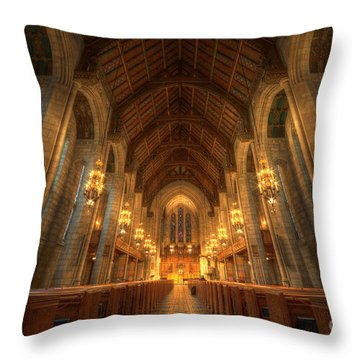 Fourth Presbyterian Church Chicago II Throw Pillow