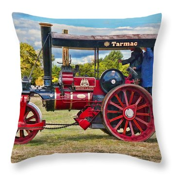 Fowler Road Roller Throw Pillow