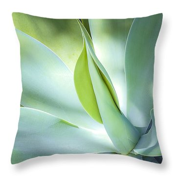 Fox Tail Agave Throw Pillow