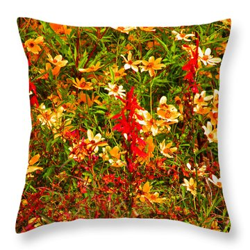 Foxfire 1 Throw Pillow