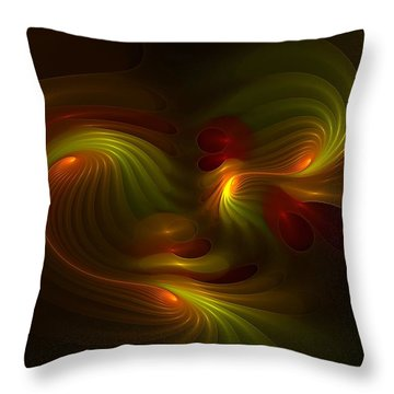 Foxhole Fysix -- Kinesia Throw Pillow