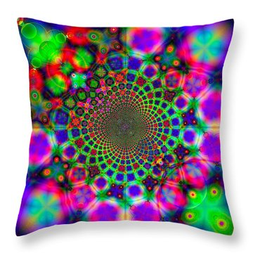 Fractal #11 Throw Pillow
