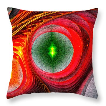 Fractal 86 Throw Pillow