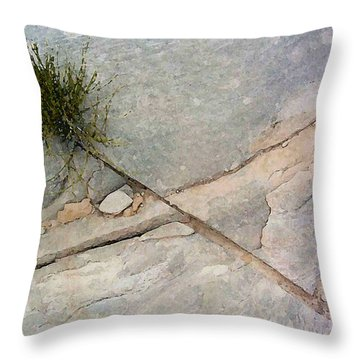 Fracture 1 Throw Pillow