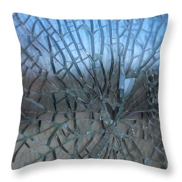 Fractured Heart Throw Pillow