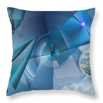 Interdimensional Throw Pillow