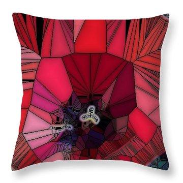 Fragile Flower Throw Pillow