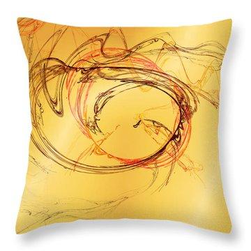 Fragile Not Broken Throw Pillow