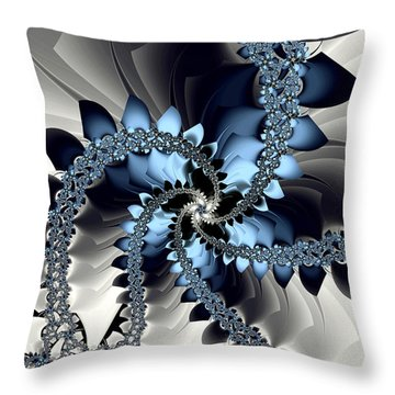 Fragments Throw Pillow by Kevin Trow